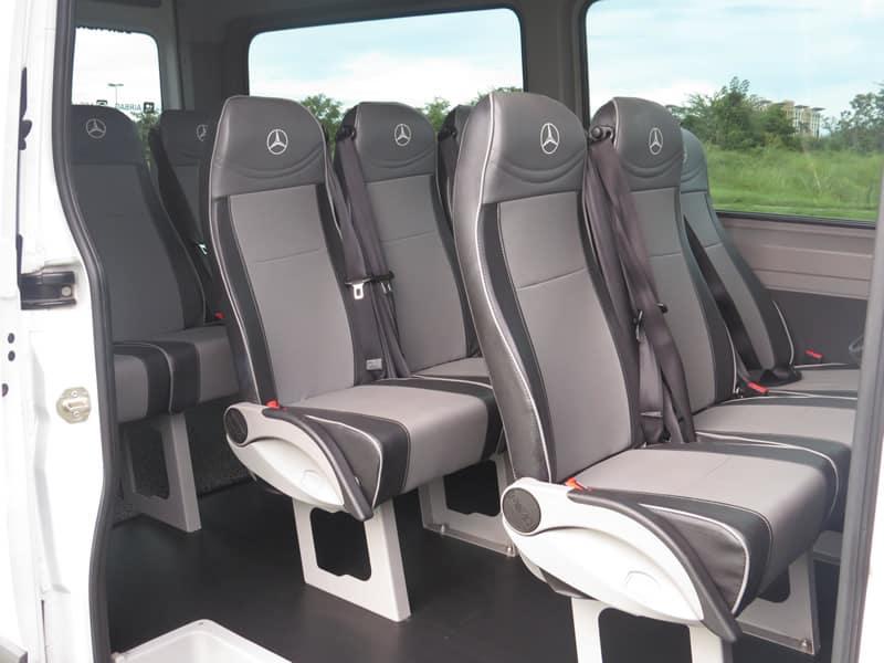 Microbus Mercedez Benz 12 passengers Seats