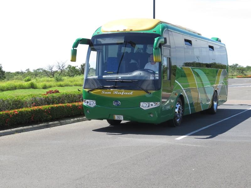Bus 42 passengers front look