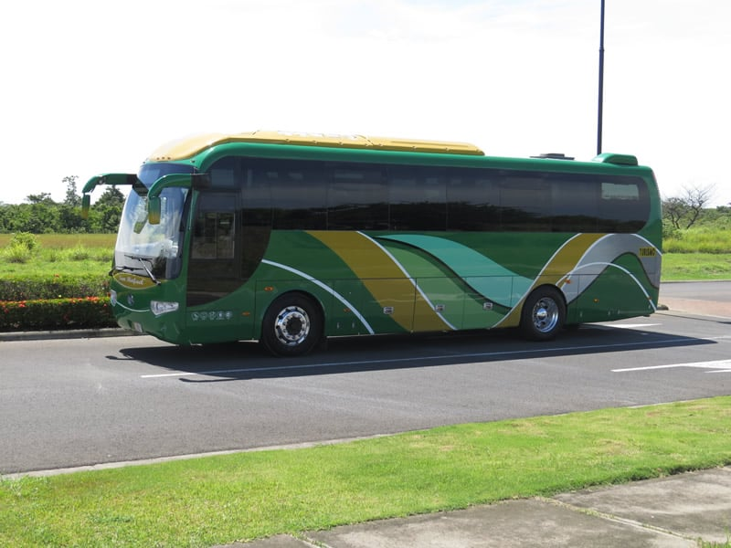Bus 42 passengers Side View