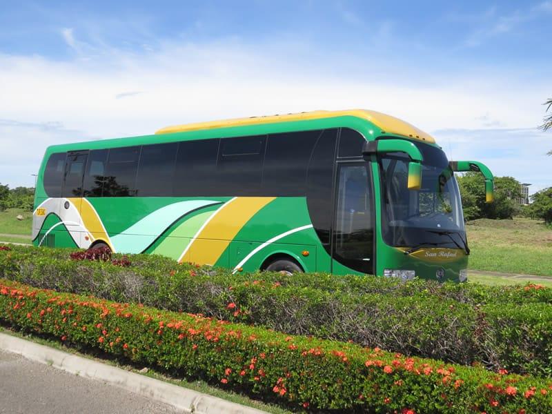 Bus 42 passengers side look
